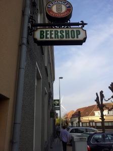 Obligatoriskt stopp när man är på väg hem från Belgien.