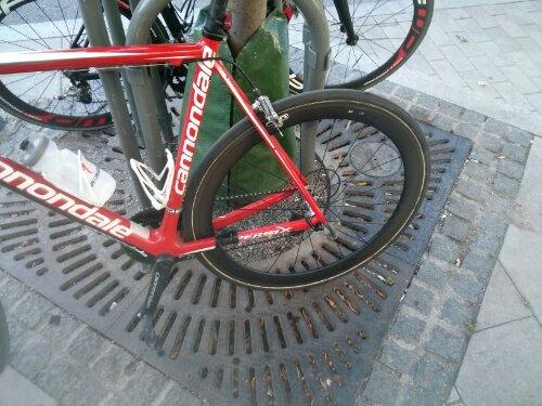 Snabblimmade däck på nya hjul! #DuraaceC50