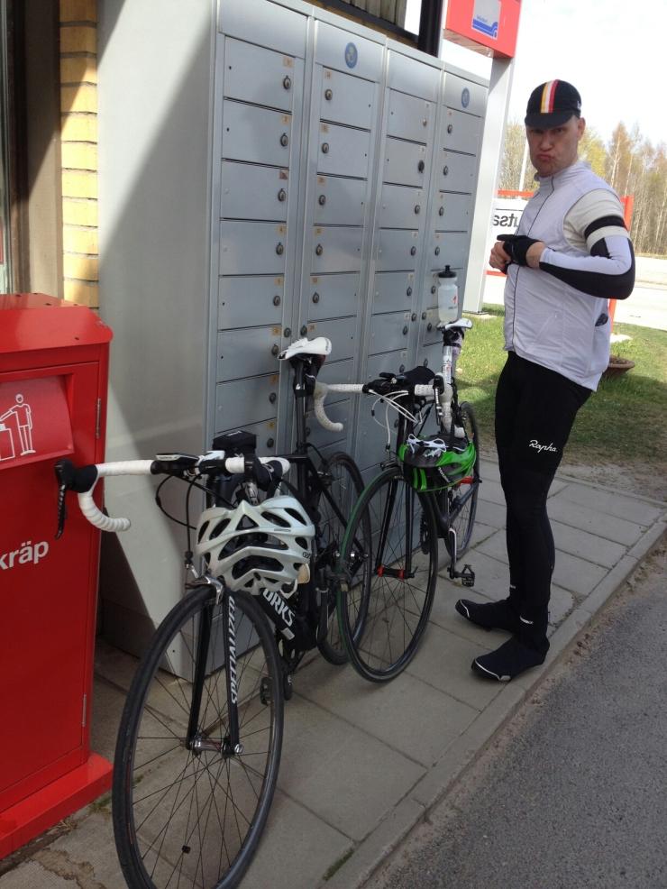 Johan trodde det var Kåtast i Knutby som gällde, men vi var i Gimo.