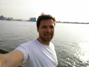 Jogg längs East River