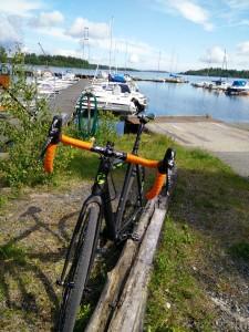 Fotopaus i Herrängs småbåtshamn