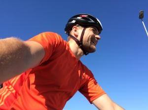 Man blir glad av att cykla
