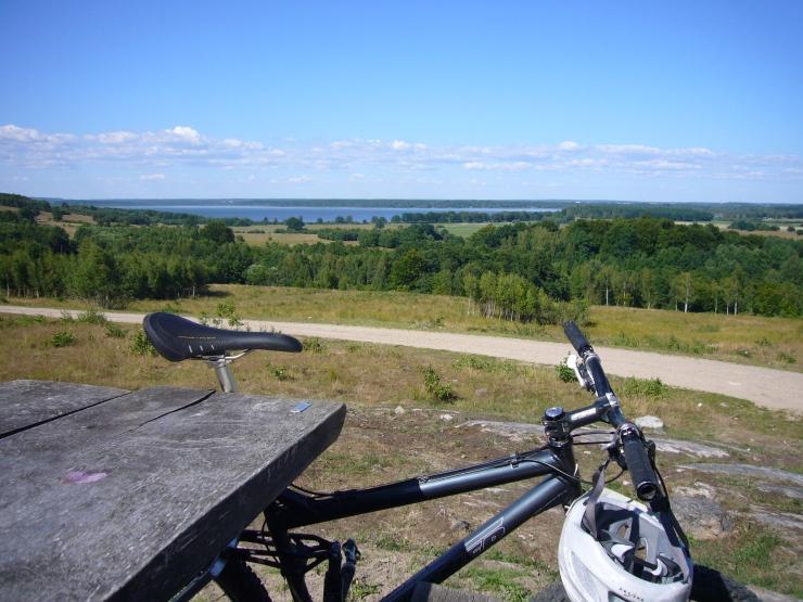 Fika vid Finjasjön